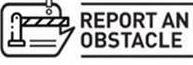 report an obstacle logo